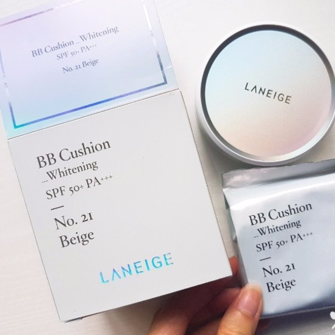 Laneige Bb Cushion Whitening Refill Hand Carried From Korea