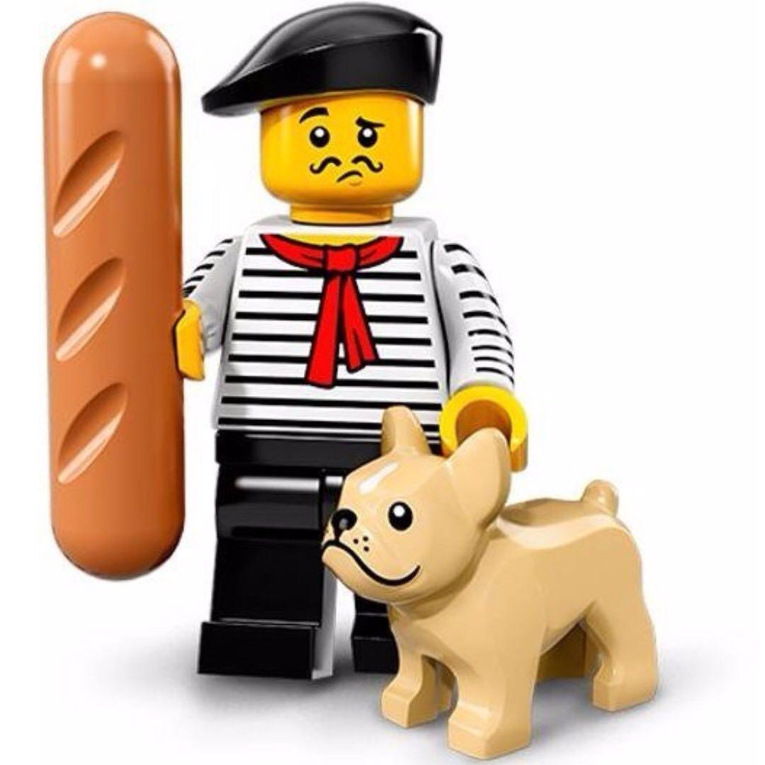 Cash Car Rentals >> Lego Connoisseur Series 17 Minifigures French Man Hot Dog Sausage Bulldog 71018, Toys & Games ...