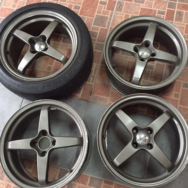 Lenso Mag Wheels