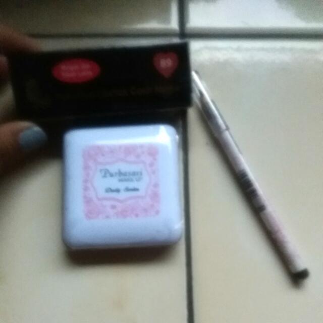 Lipstikb, Eyeshadow,pensil Alis