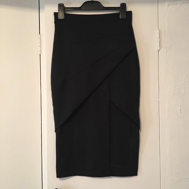 Maurie & Eve black skirt