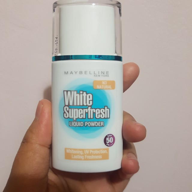Maybelline White Superfresh Liquid Powder Natural