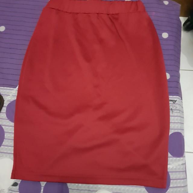 Mini Skirt 85cm Pinggang Karet