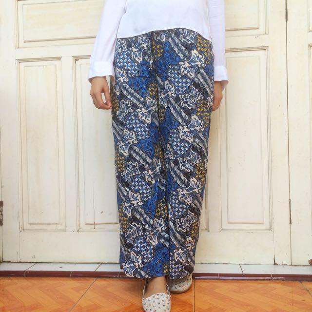 NEW Celana Kulot Batik
