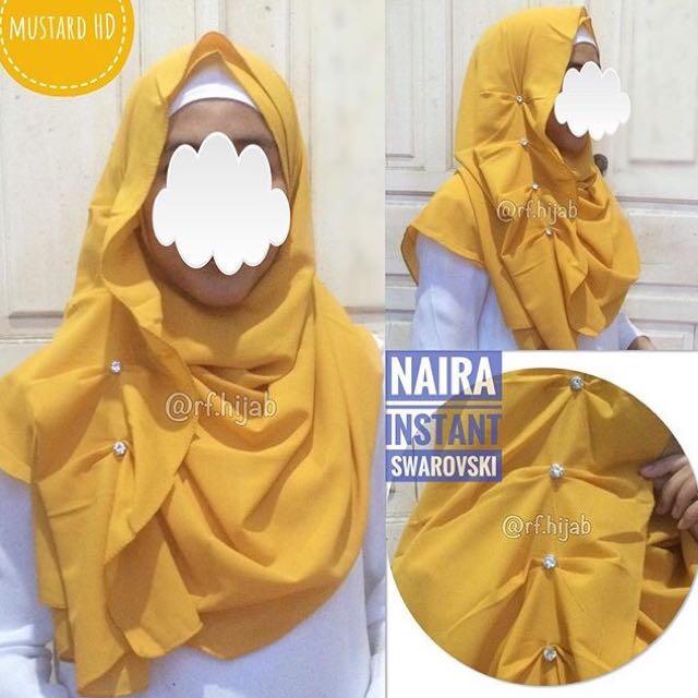 NEW jilbab instant mewah