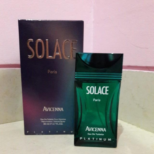 NEW Parfum Avicenna Solace Eau De Toilette Platinum 80ml Parfum Branded