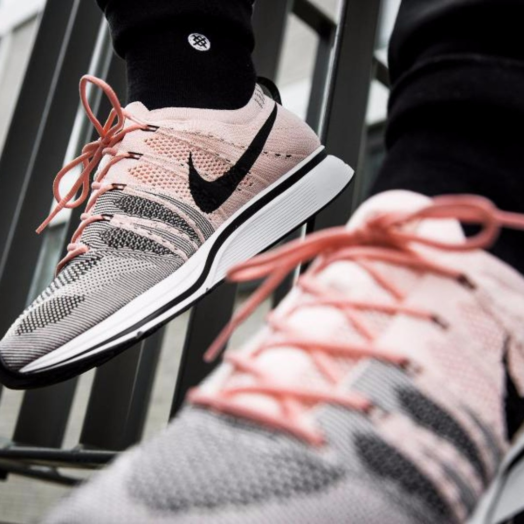 "6c7f1d6fa157 Nike Flyknit Trainer ""SUNSET TINT"""