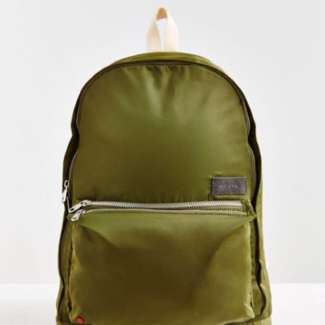 Nylon State Backpack (in Black not in Green)