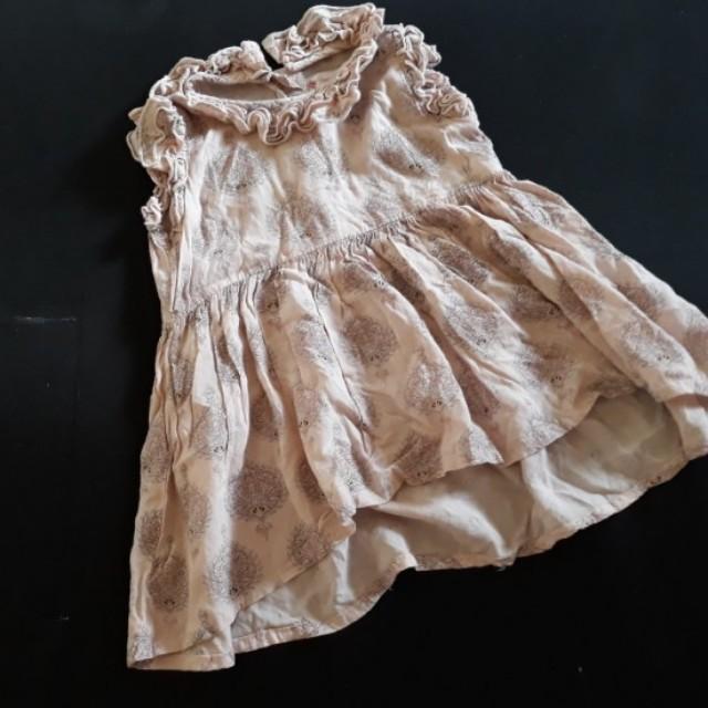 Peppermint Floral Dress