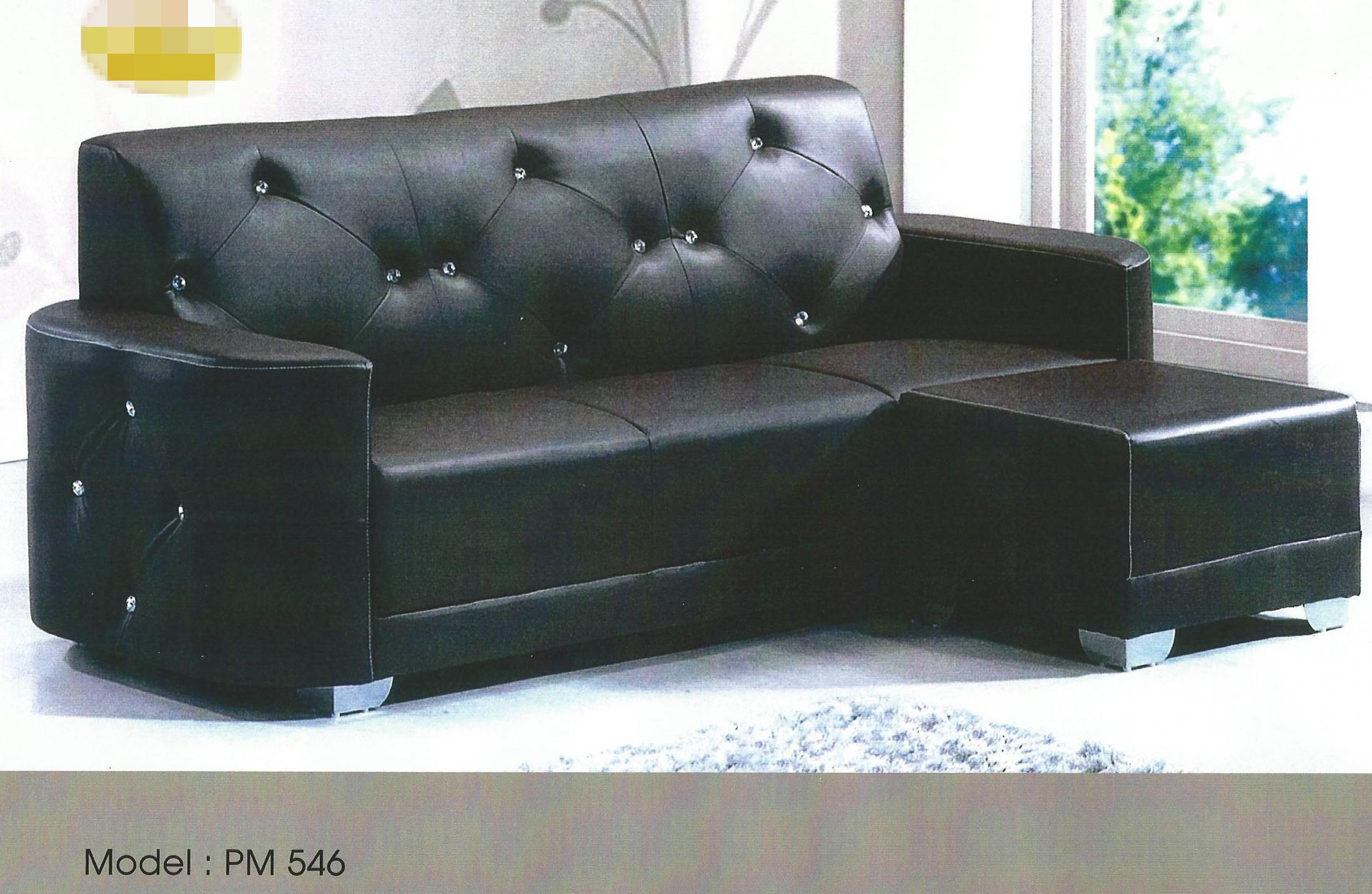 Sofa L Shape Murah Penang Baci Living Room