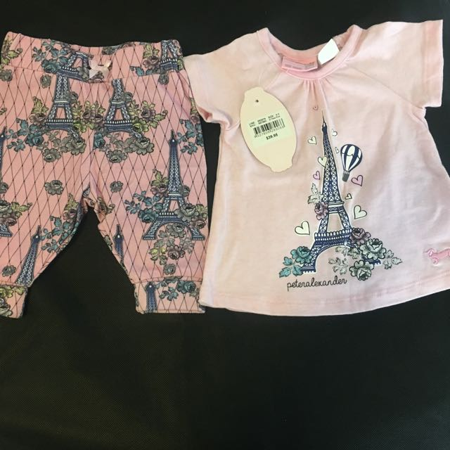Peter Alexander Paris Baby set 0-3 months