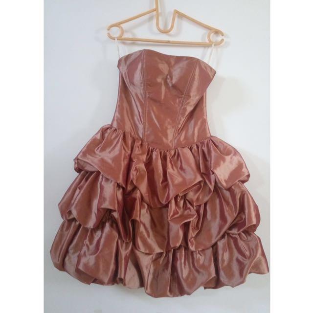 Layered Pink Dress