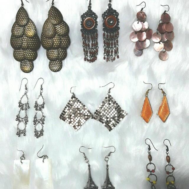 Preloved Dangling / Chandelier Earrings