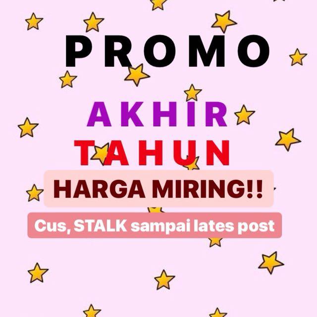 PROMO!! a.k.a SALE!