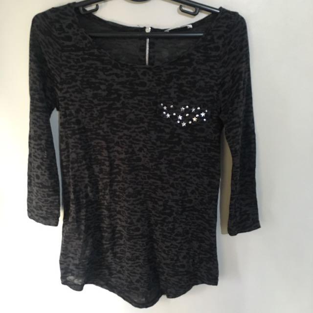 Promod Translucent shirt