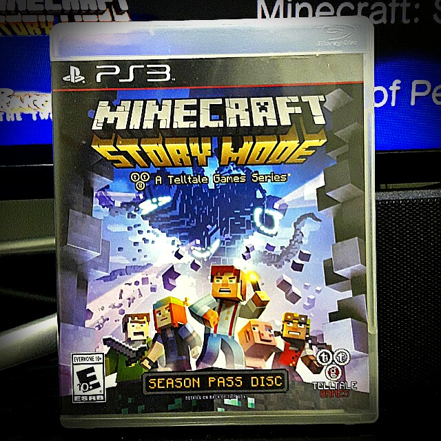 Ps3 At Minecraft Story Mode