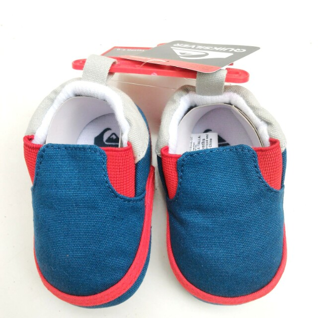 Quiksilver Slip On Newborn 0-6mts Baby Shoes