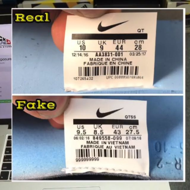 963660c20bc8 Real Vs Fake Off White Vapormax