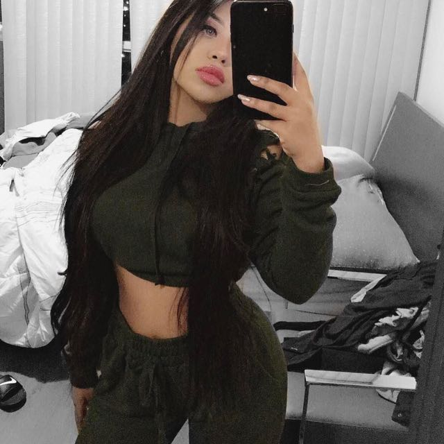 Ripped Khaki Set