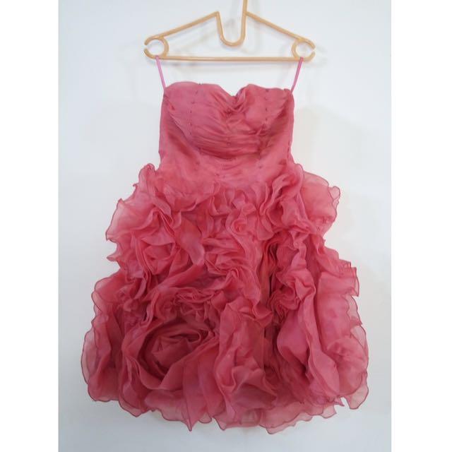 Roses Pink Dress