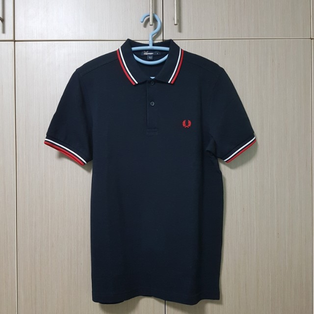 909847c7 Reserved! Fred Perry Slim Fit Twin Tipped Polo Shirt Instock, Men's ...