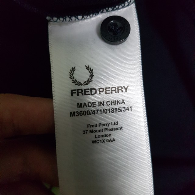 151a037e Reserved! Fred Perry Slim Fit Twin Tipped Polo Shirt Instock, Men's  Fashion, Clothes on Carousell