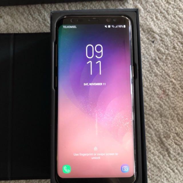 Samsung s8 Gold - LIKE NEW - Garansi Panjang SEIN