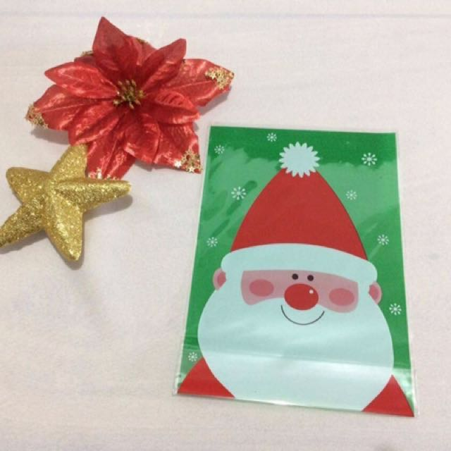 Santa cookie big bag (12pcs/pack)