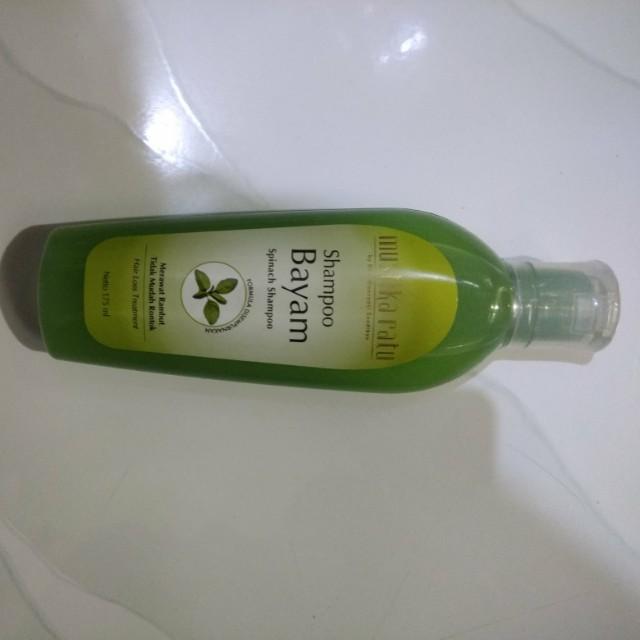 Shampoo Bayam Mustika Ratu