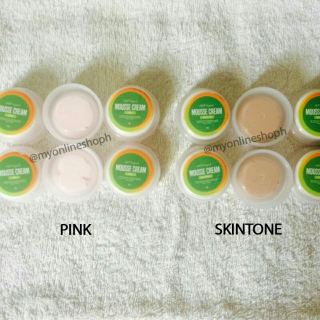 Skin Magical Mousse Cream (Pink/Skintone)