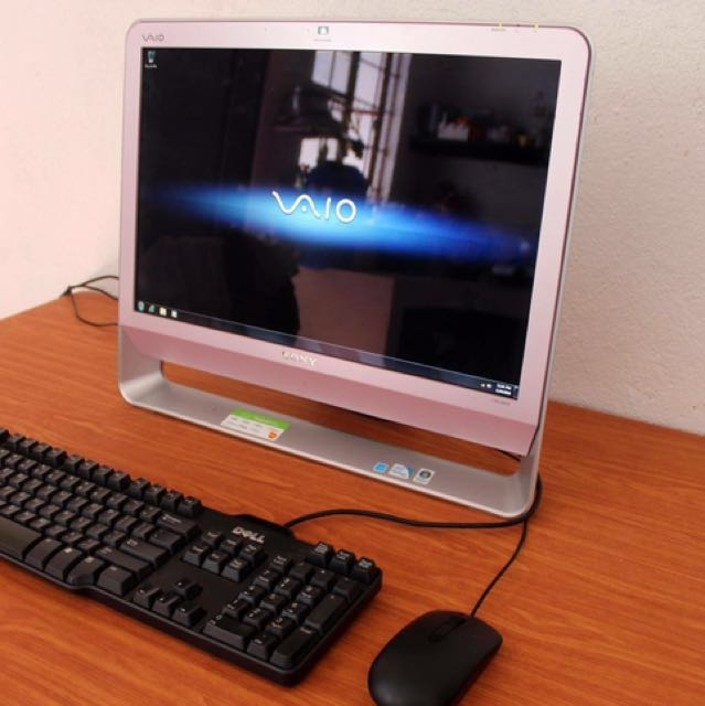 Sony all in one pc 20 inch dual core cash delivery
