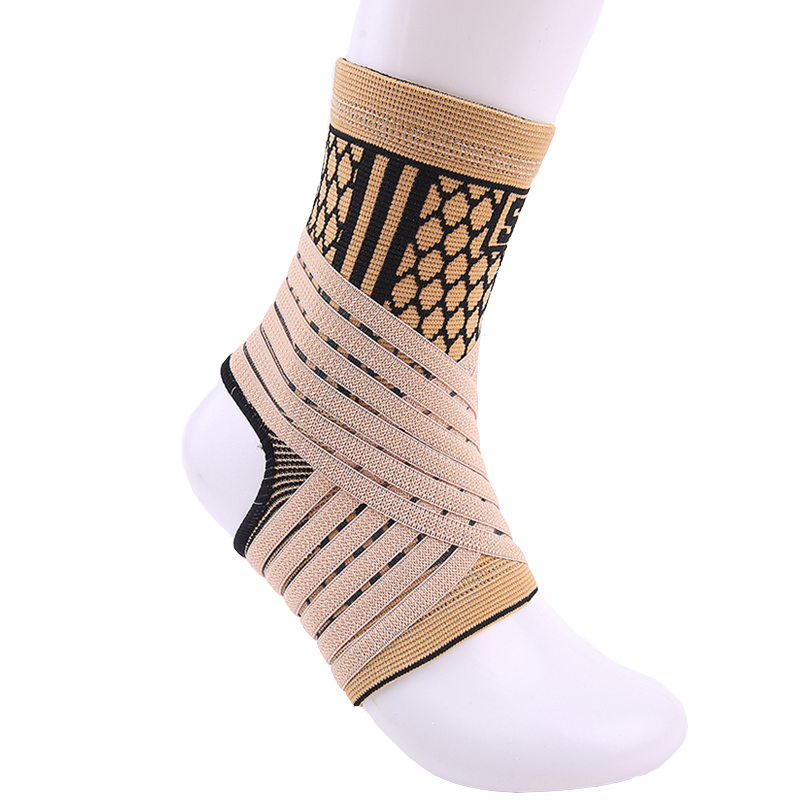 d0d509025b Sports Ankle Supports Braces Foot Braces Support Sports High Elastic ...