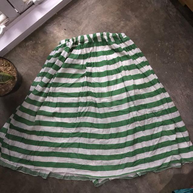 Stripes skirt N.y.l.a