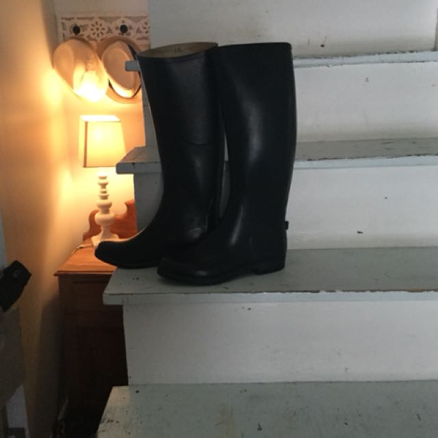 Superba ridding caoutchou boots size 8