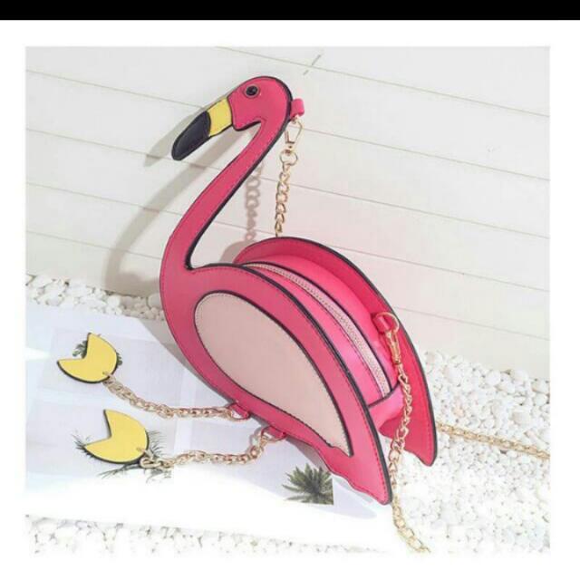 (NEW) Tas Mini Flamingo Import (reduced price)