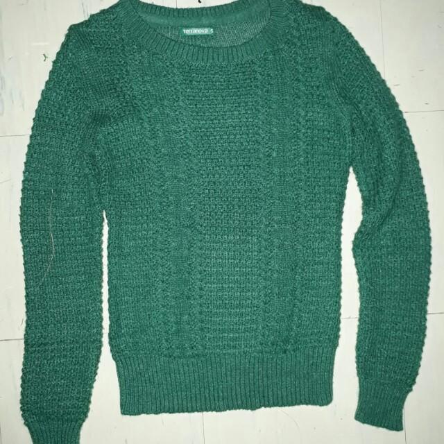 Terranova knitted pullover jacket