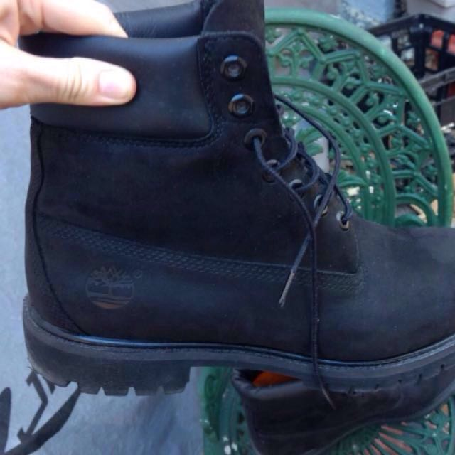Timberland Black Boots Size 11 Men's