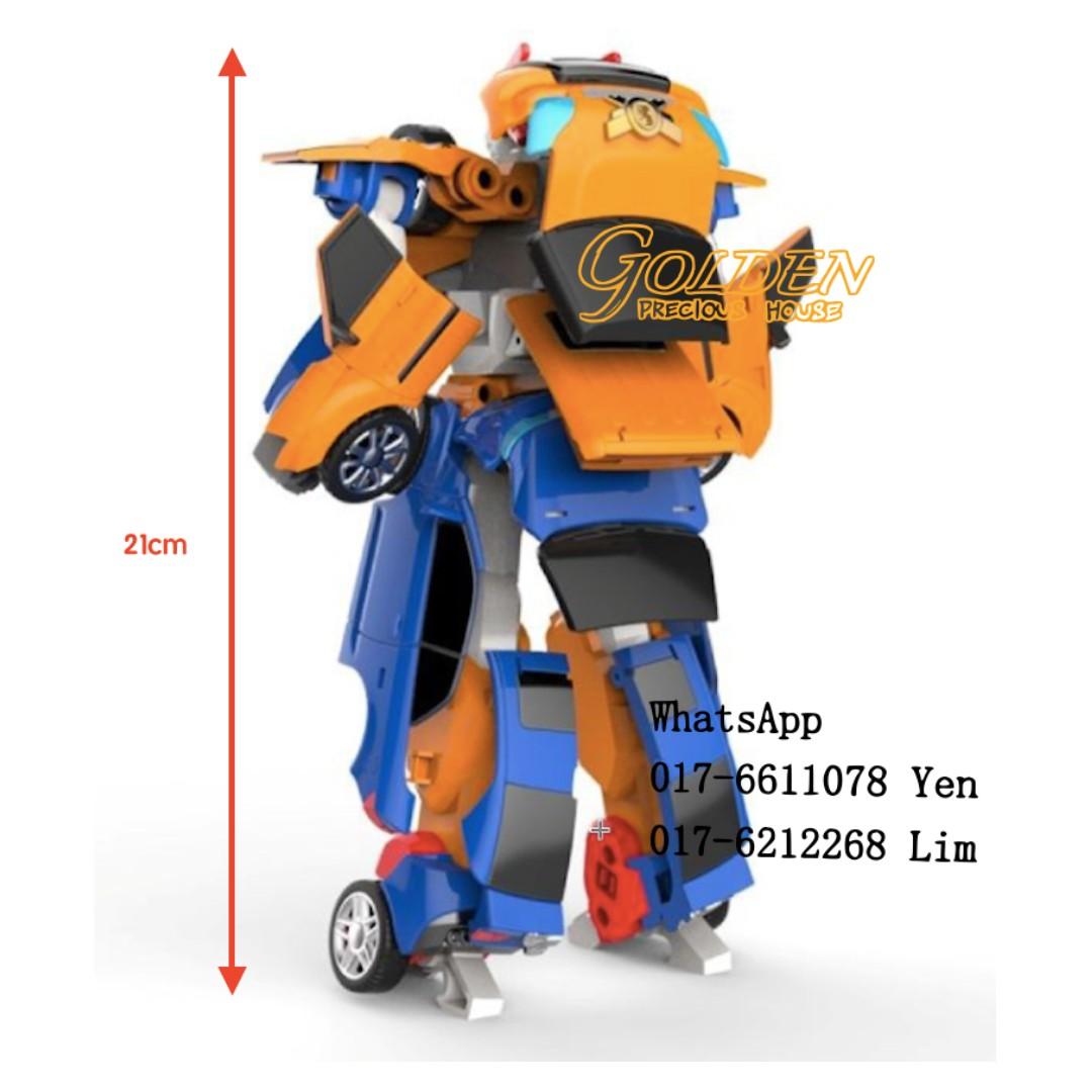 TOBOT TITAN 21cm Deformation Robot 2 in 1 Set Tobot X & Y New