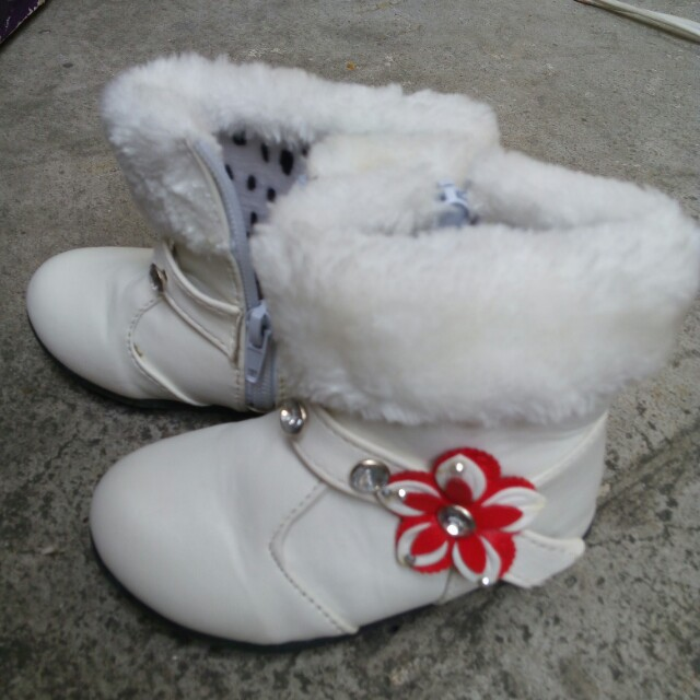 Toddler's Fur Boots