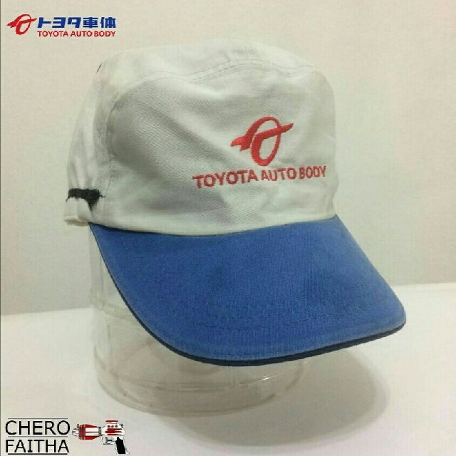 TOYOTA AUTO BODY mechanic factory cap hat topi 56e07133d8