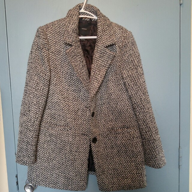 Tweed women's suit style jacket