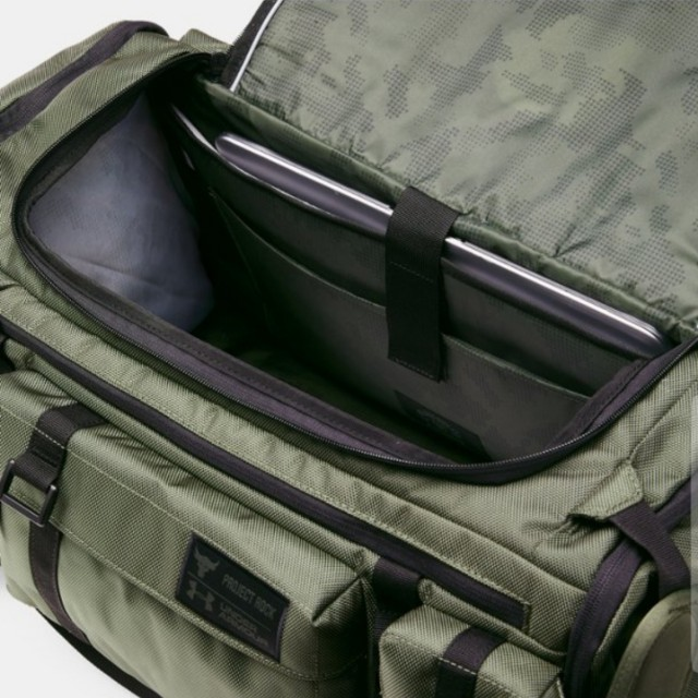 Under Armour x Project Rock USDNA Range Duffle (Green) c88b81d5bf3e1