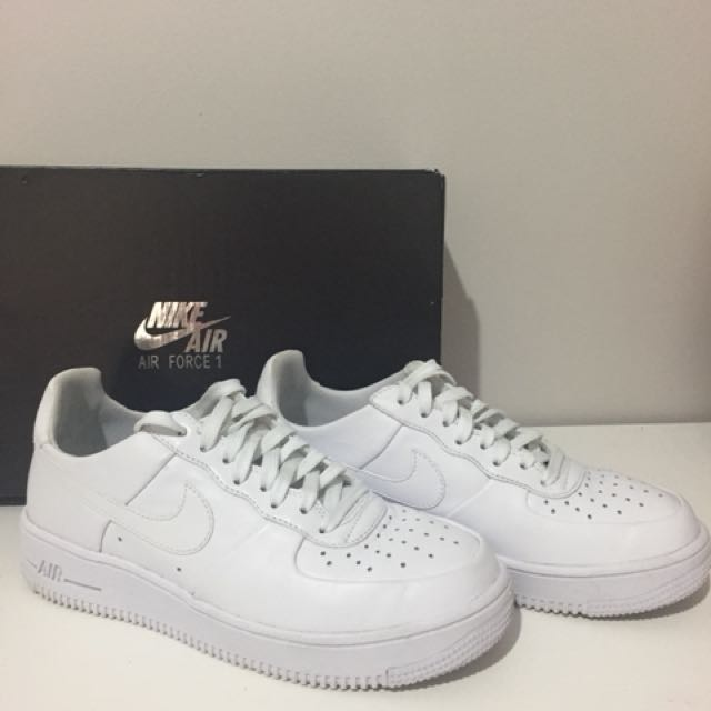 7fdb65bb8ce3b Ultra white nike airforce 1 size 7 women's, Women's Fashion, Clothes on  Carousell