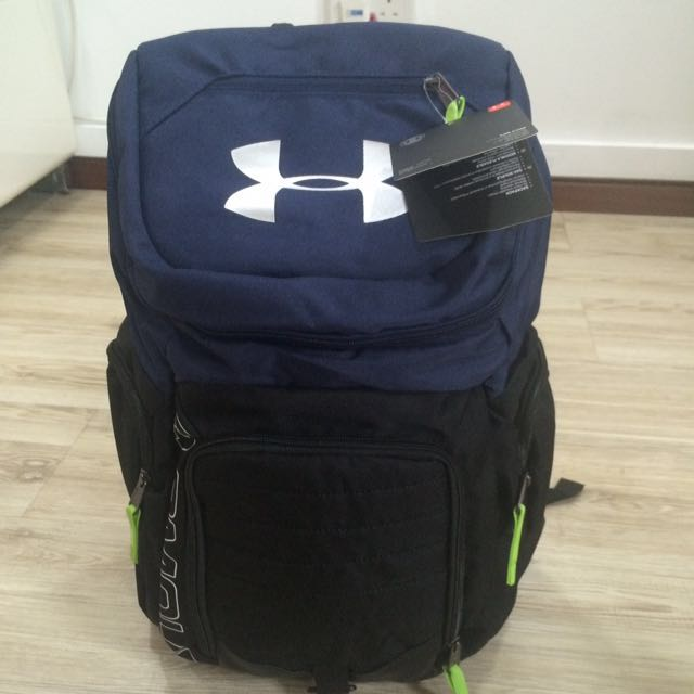 UNDERARMOUR ROLL TRANCE SPORTS OUTDOOR SCHOOL BAG BACKPACK 21b8be2a50ae4