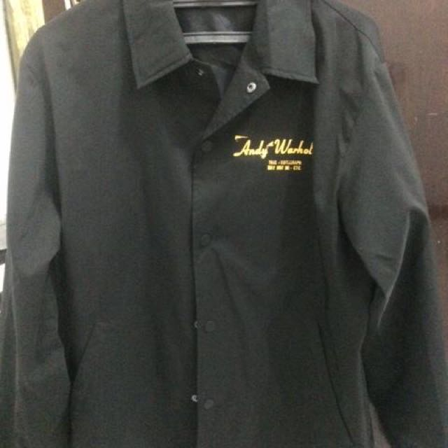 Uniqlo Andy Warhol Coach Jacket
