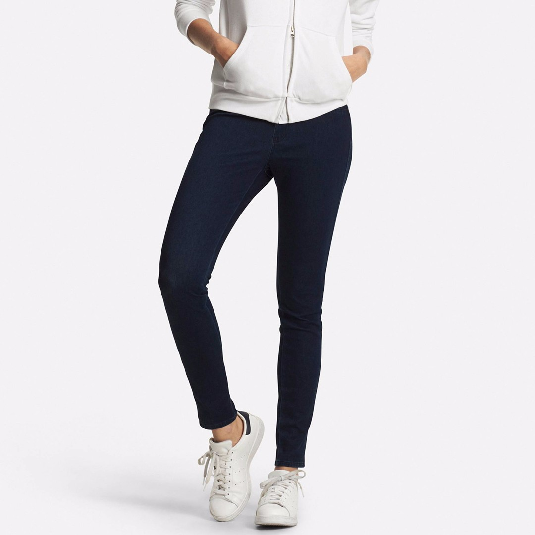 Uniqlo navy jeggings