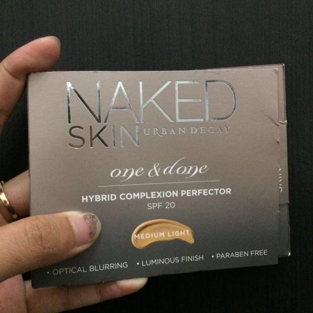 Urban decay naked skin one and done travel size