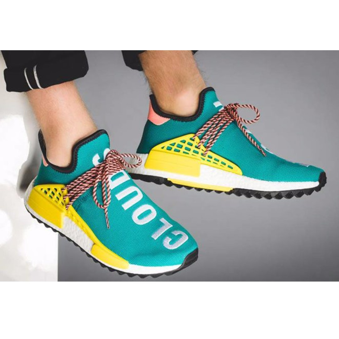 low priced 66934 2d5f1 US8.5 Pharrell William Human Race NMD Trail