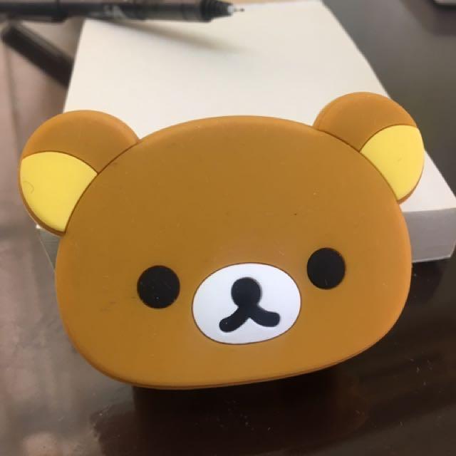 拉拉熊USB充電插頭
