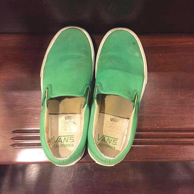 出清。VANS 帆布鞋 MenUS. 5.5  Women US. 7  /23.5。/37